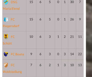 Heimspiel gegen FC Waldsiedlung 4:1 gewonnen!
